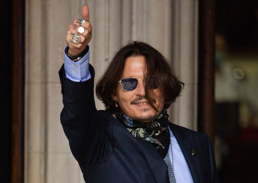 Image Credit: Getty Images / Johnny Depp arrives at Royal Courts of Justice, Strand on July 24, 2020 in London, England.