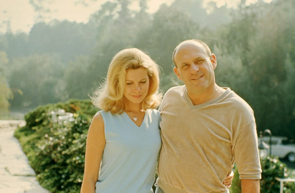 Image Credits: Getty Images / Martin Mills | Actress Elizabeth Montgomery (1933-1995) and her husband producer and director William Asher (1921-2012) pose for a portrait at home circa 1966 in Beverly Hills, California.