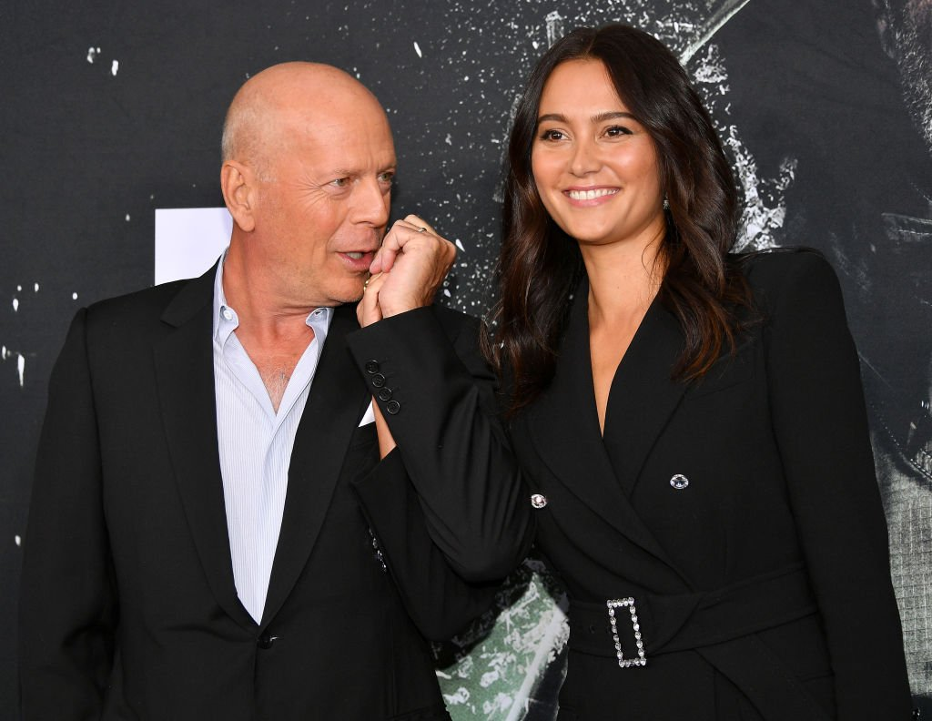 "Image Credit: Getty Images / Bruce Willis and Emma Heming attend the ""Glass"" NY Premiere at SVA Theater on January 15, 2019 in New York City."