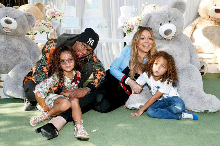 Mariah Carey and Nick Cannon with their twins Moroccan and Monroe/Photo:Getty Images