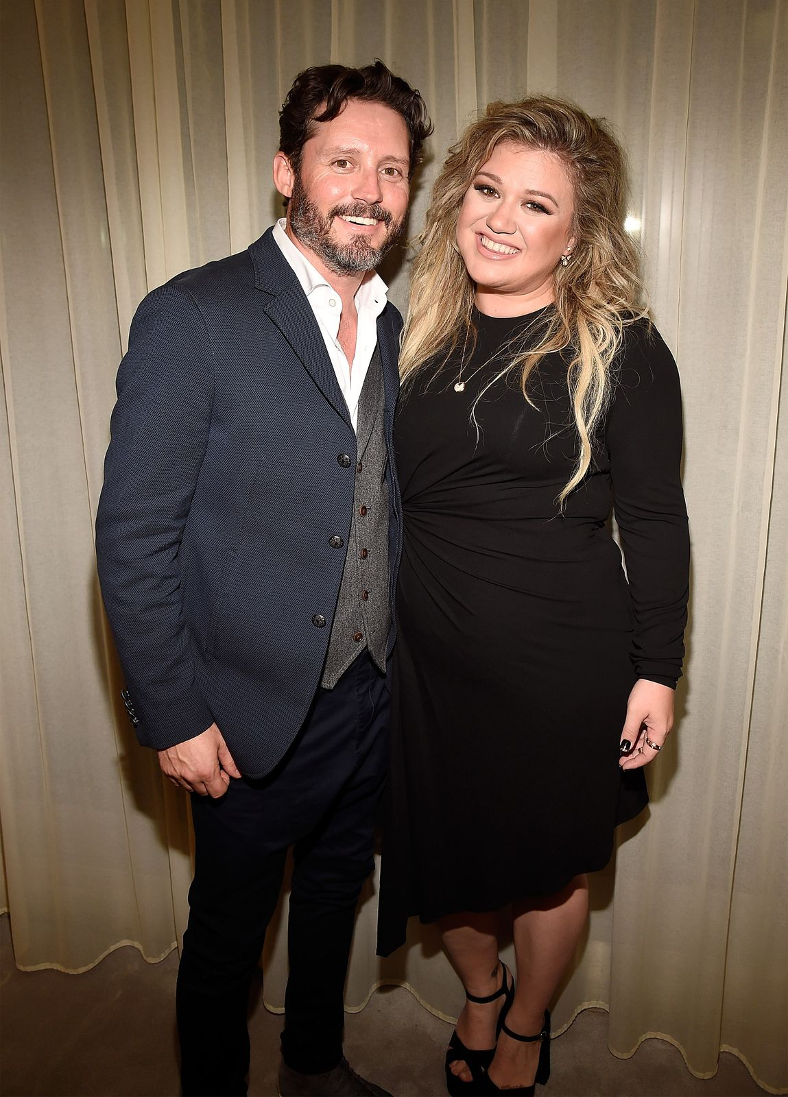 Kelly Clarkson and Brandon Blackstock/Photo:Getty Images