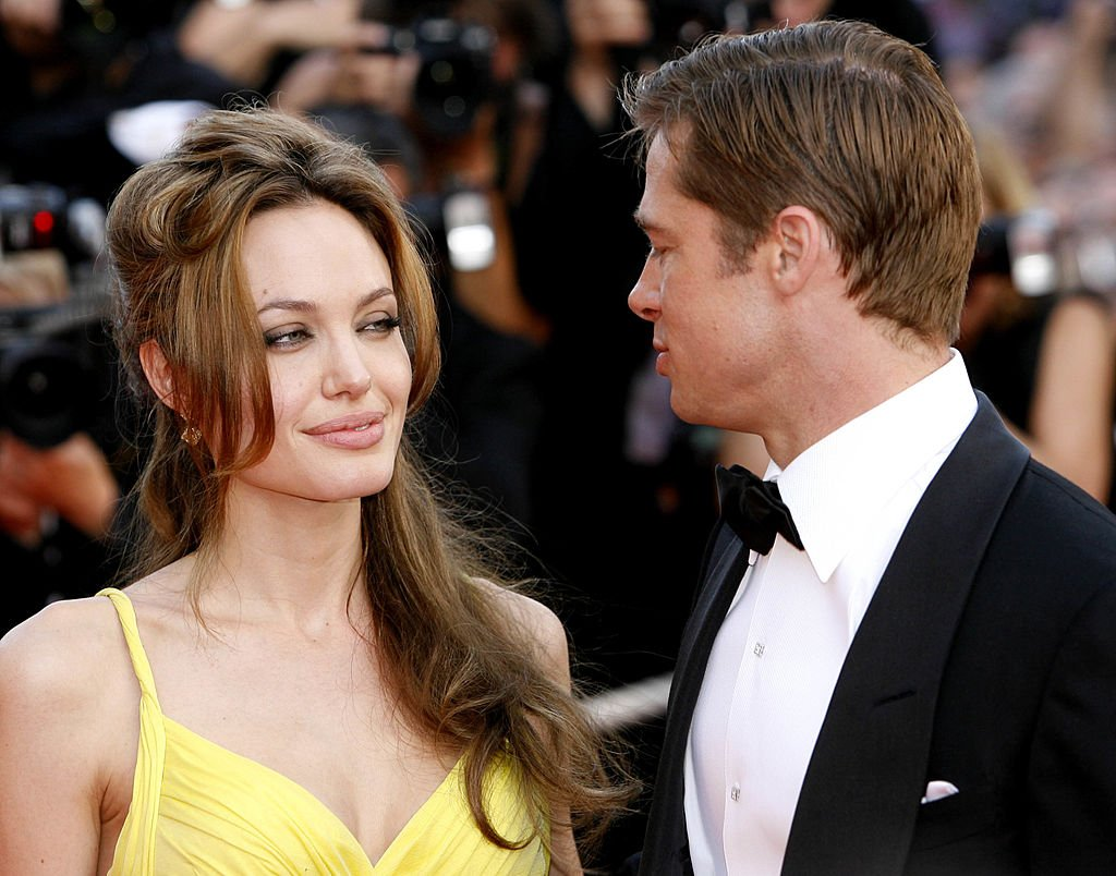 Image Credit: Getty Images/WireImage/Richard Lewis | Pitt and Jolie at the 2007 Cannes Film Festival