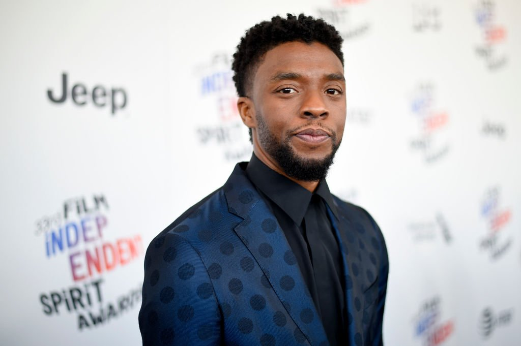 Image Credits: Getty Images / Kevin Mazur | Actor Chadwick Boseman attends the 2018 Film Independent Spirit Awards on March 3, 2018 in Santa Monica, California.