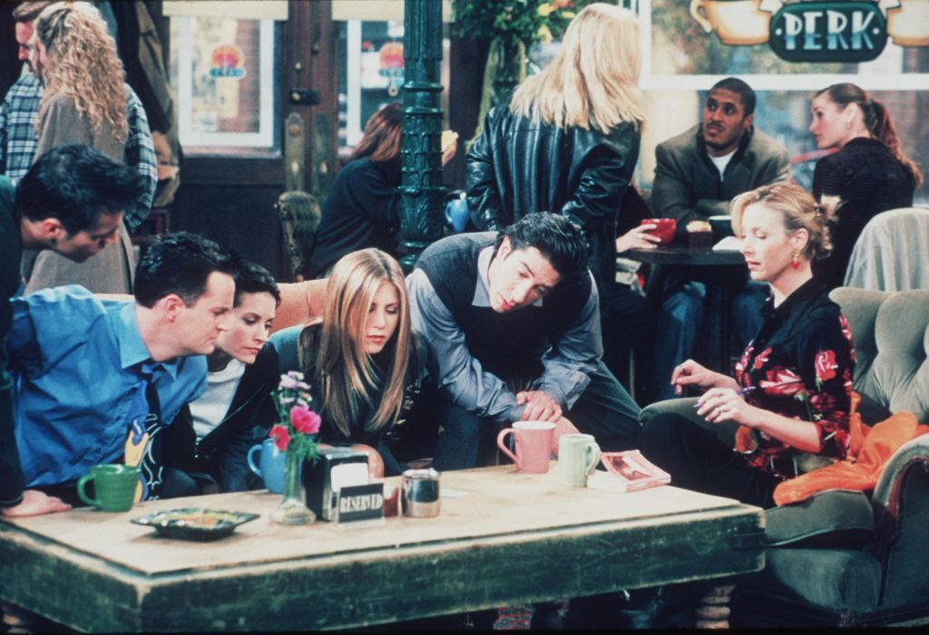 The cast of Friends had a lot of fun on the set / Getty Images
