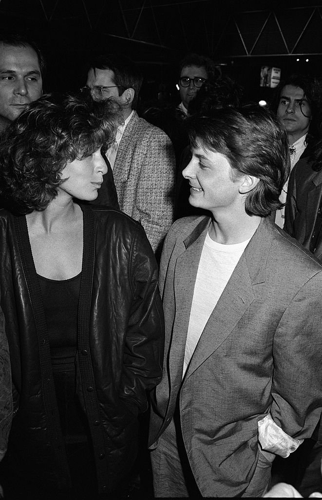 Michael J. Fox and Jennifer Grey/Photo:Getty Images