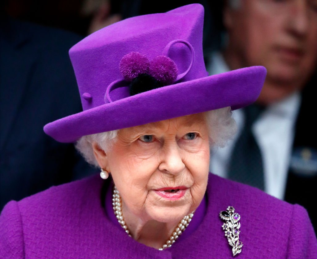 Image Credit: Getty Images / Queen Elizabeth II opens the new premises of the Royal National ENT and Eastman Dental Hospitals on February 19, 2020 in London, England.