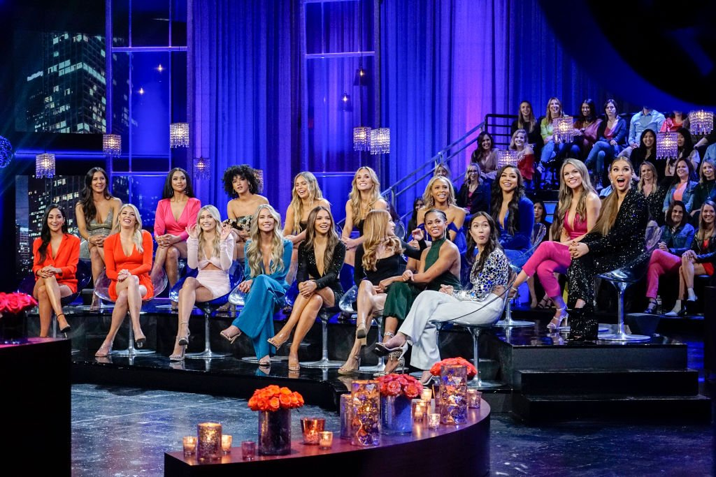 Image Source: Getty Images/ABC via Getty Images/Kelsey McNeal | The Bachelor Season 24 reunion show