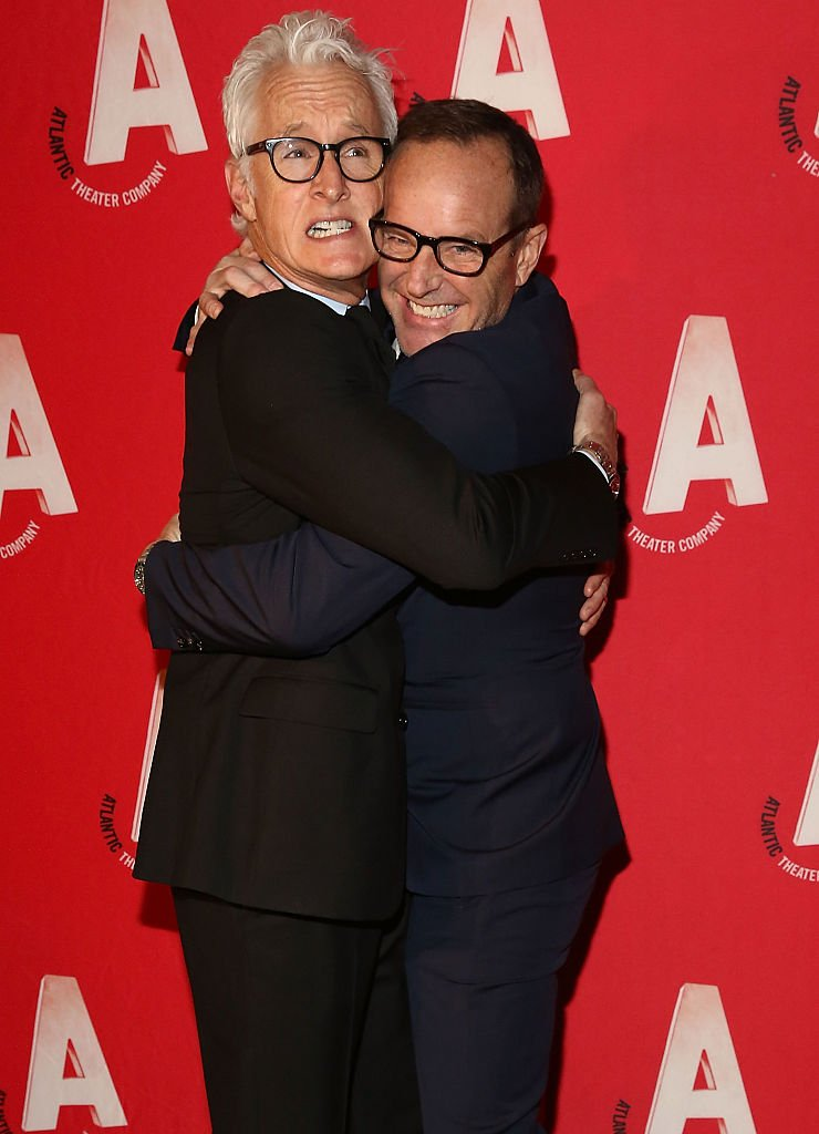 Image Credits: Getty Images / Astrid Stawiarz | John Slattery and Clark Gregg attend Atlantic Theater Company 30th Anniversary Gala at The Pierre Hotel on March 2, 2015 in New York City.