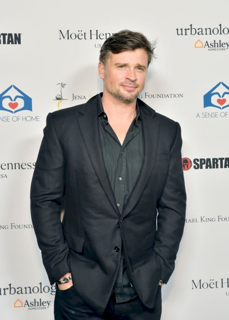 Image Credits: Getty Images / Stefanie Keenan | Tom Welling attends A Sense Of Home's First Ever Annual Gala - The Backyard Bowl at a Private Residence on November 01, 2019 in Beverly Hills, California.