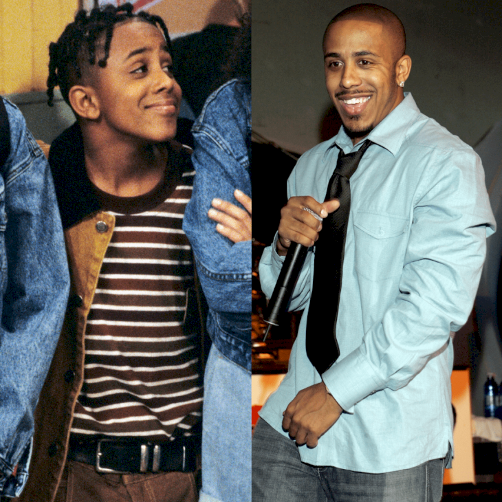 Image Credit: Getty Images / Before and After: Marques Houston.