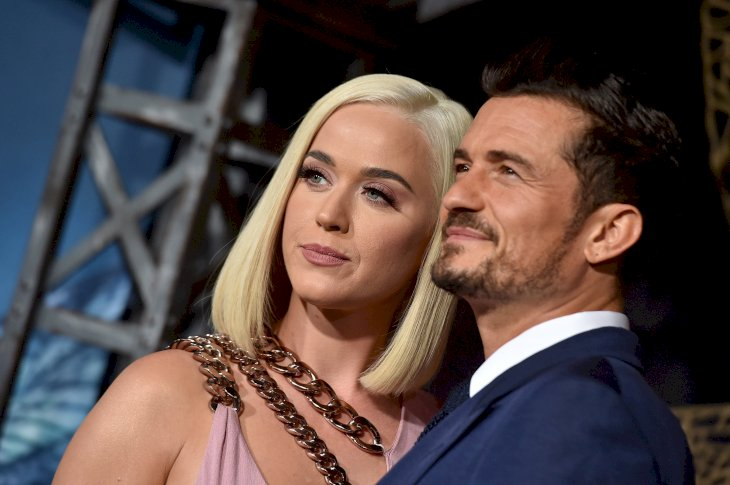 Image Credit: Getty Images / Orlando Bloom and Katy Perry at an event.