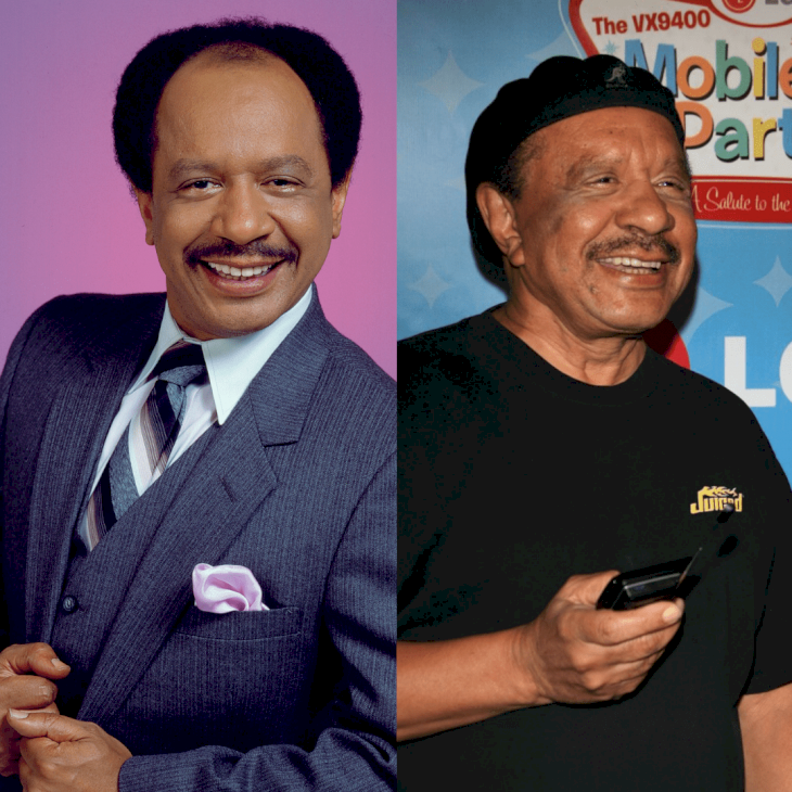 Image Credit: Getty Images / Before and After: Sherman Hemsley.