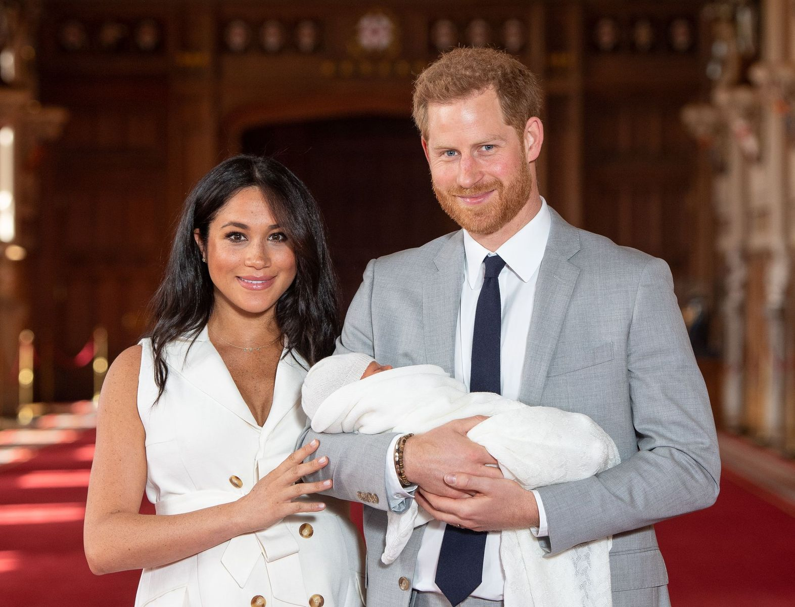 Meghan Markle, Prince Harry of Wales and baby Archie/Photo:Getty Images