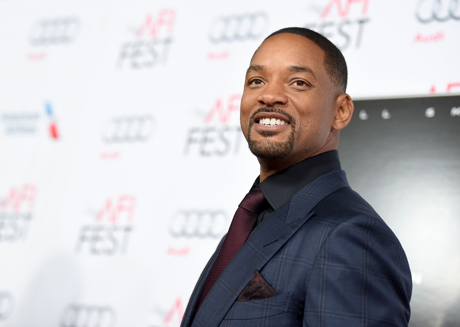 Will Smith at the Centerpiece Gala Premiere of Concussion during AFI FEST 2015 in California/Photo:Getty Images.