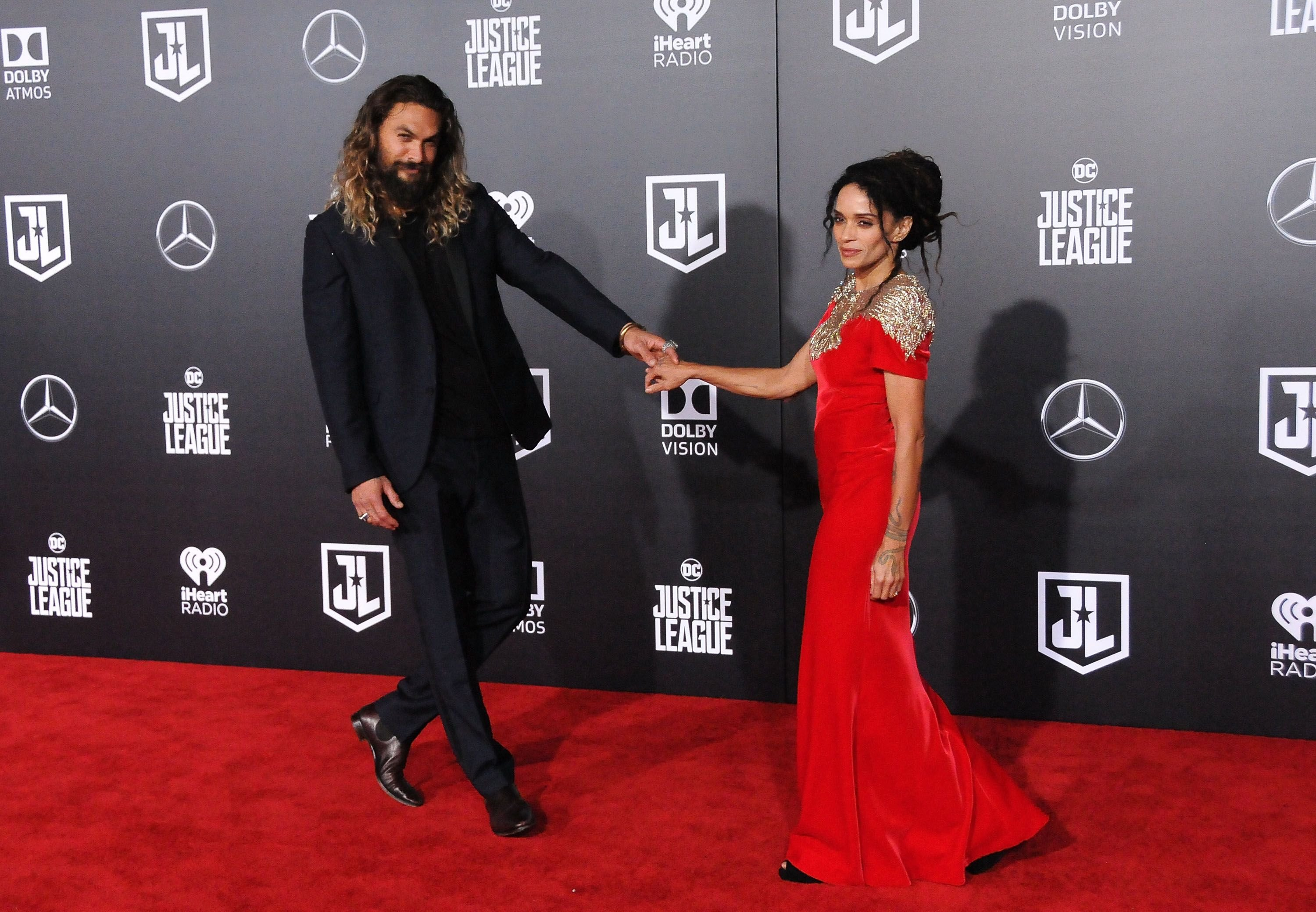 Jason's dream came true when he met Lisa Bonet in real life / Getty Images