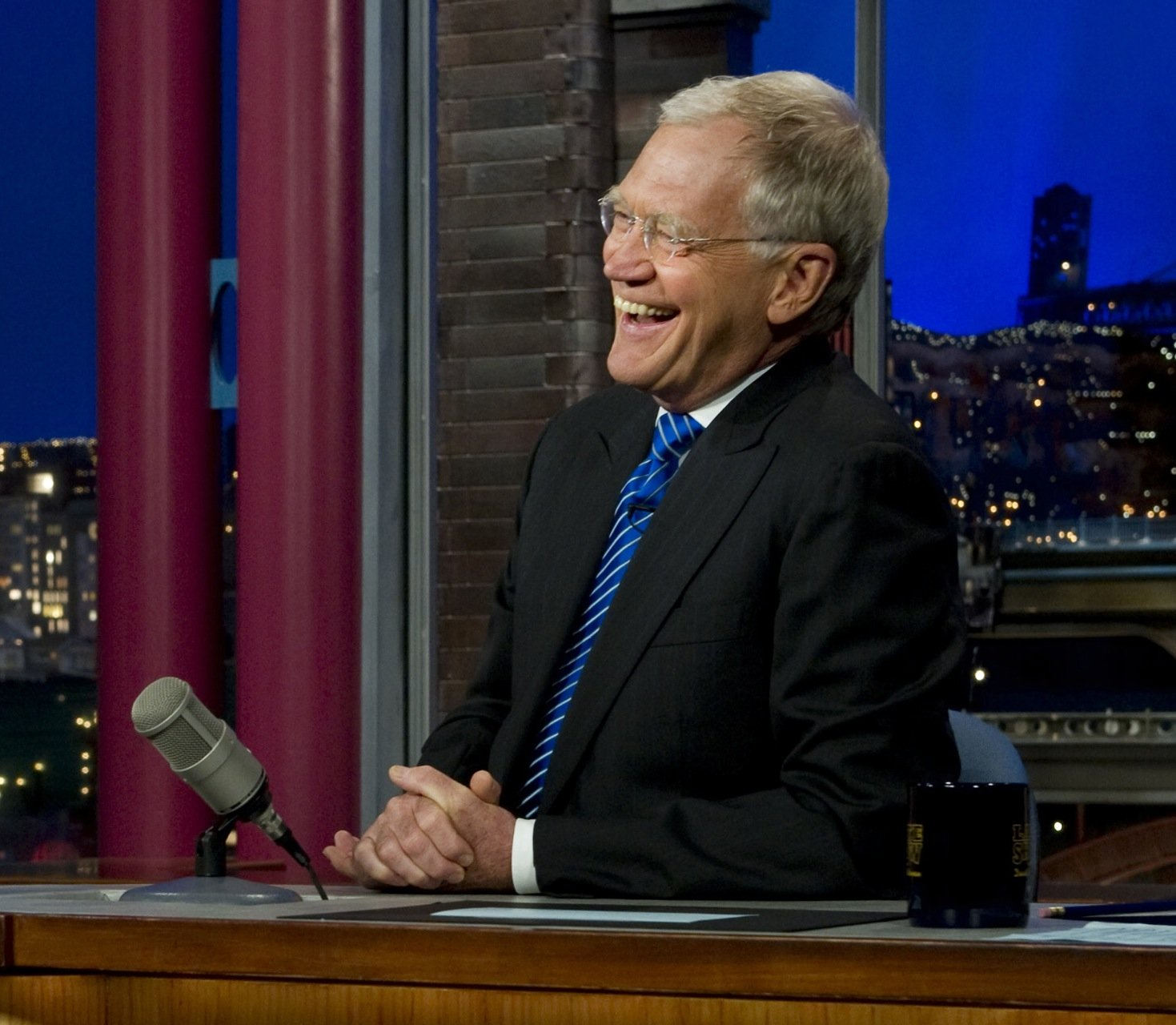 David Letterman Image Source: Wikimedia Commons.