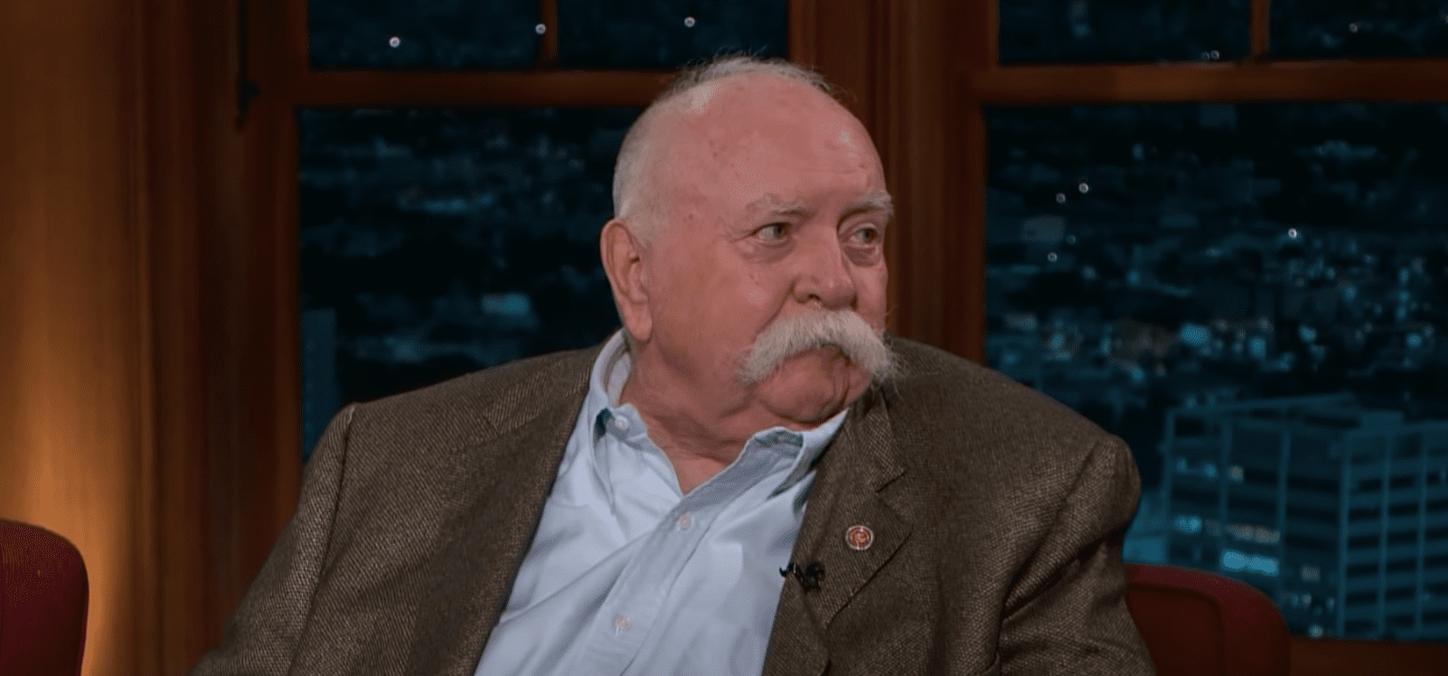 Image Source: Youtube/Fergufool| Craig Ferguson With Wilford Brimley