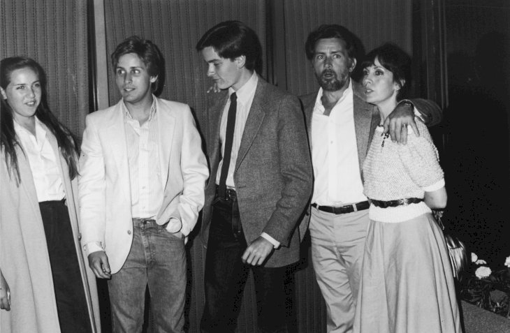 Image Credit: Getty Images / Martin Sheen and his family.