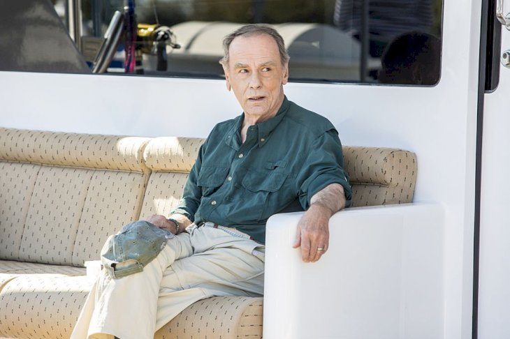 Image Credit: Getty Images/CBS via Getty Images/Skip Bolen | Stockwell on set for NCIS New Orleans in 2014