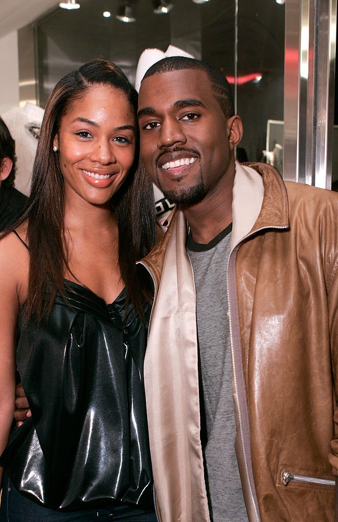 Image Source: Getty Images/Chris Weeks/Alexis Pheiffer, left, and music recording artist Kanye West attend the grand opening of Intermix on September 25, 2007 in Los Angeles, California