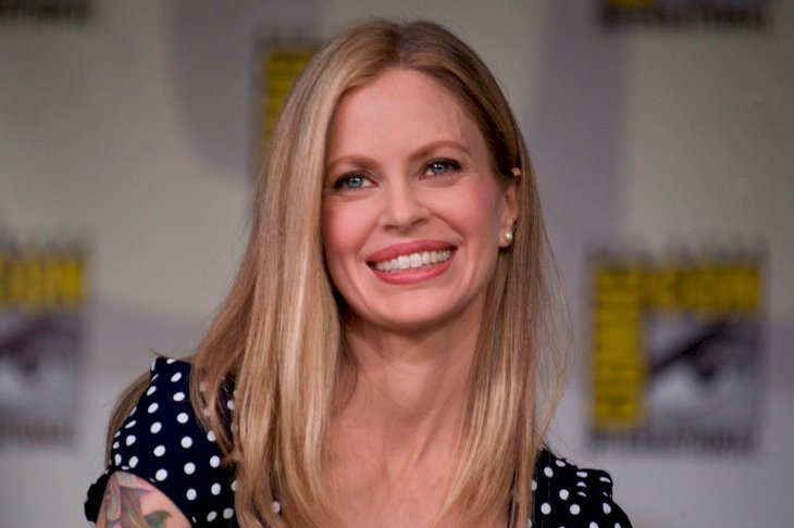 Getty Images/Wendy Redfern | Kristin Bauer van Straten speaks on stage during day one of Comic-Con 2011 held at the San Diego Convention Center on July 21, 2011 in San Diego, California.