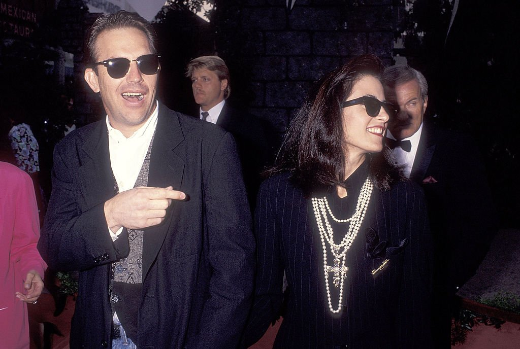 "Image Credit: Getty Images / Actor Kevin Costner and wife Cindy Costner attend the ""Robin Hood: Prince of Thieves"" Westwood Premiere on June 10, 1991."