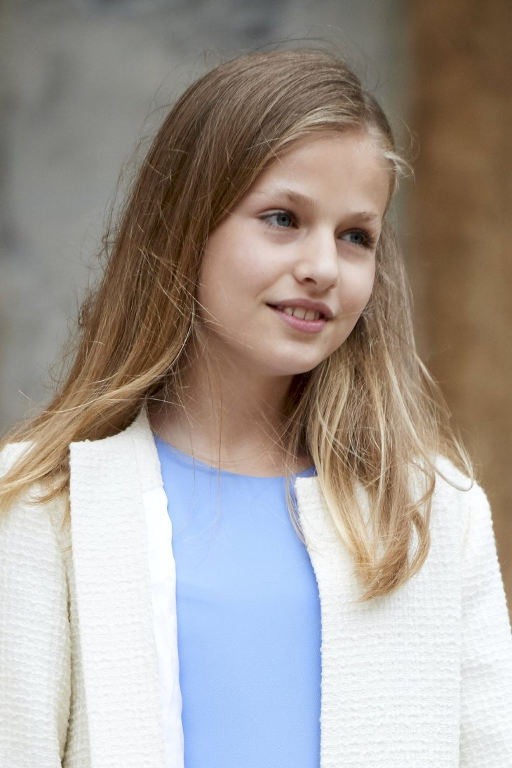 Image Credit: Getty Images / Princess Leonor at a public event.