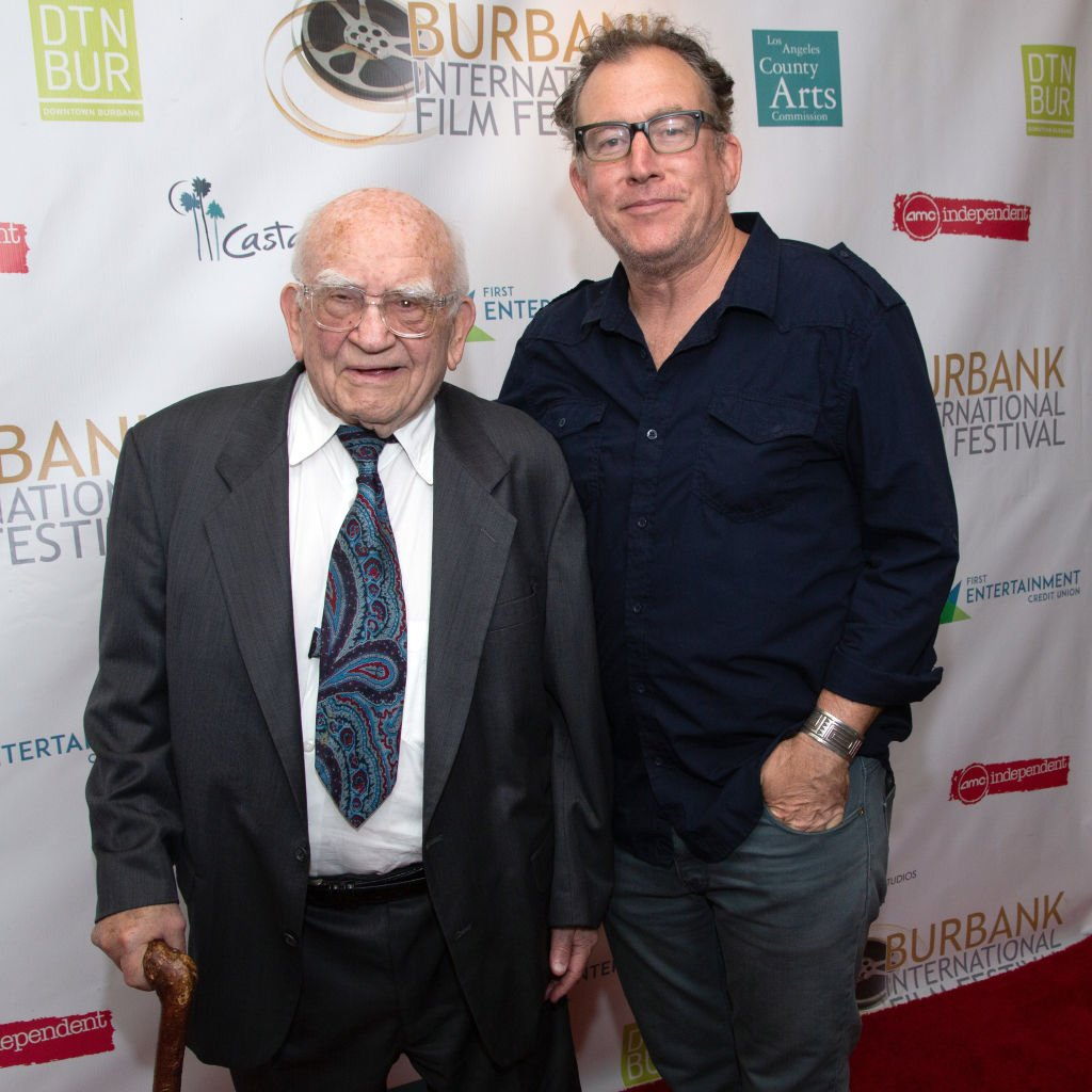 Image Credits: Getty Images | Matt Asner and his father Ed Asner