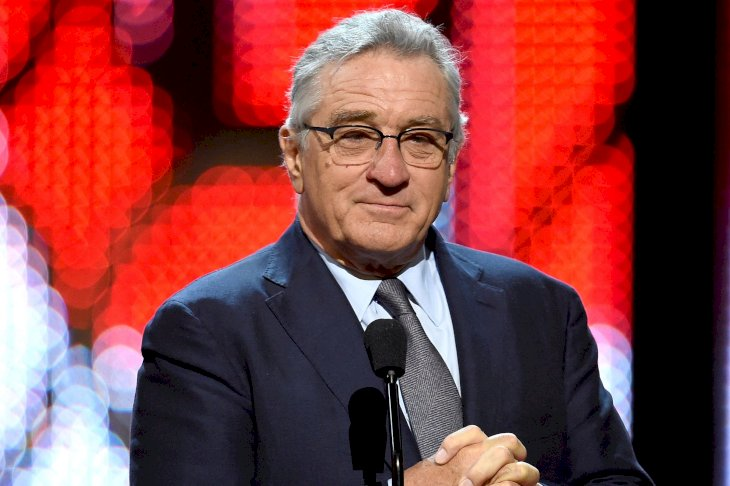 Image Credits: Getty Images / Kevin Winter | Actor Robert De Niro speaks onstage during Spike TV's 10th Annual Guys Choice Awards at Sony Pictures Studios on June 4, 2016 in Culver City, California.