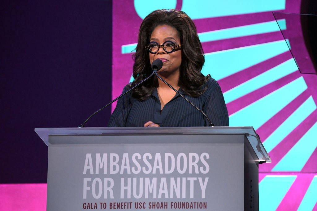 Image Credit: Getty Images / Oprah Winfrey attends the Ambassadors For Humanity Gala Benefiting USC Shoah Foundation Honoring Rita Wilson And Tom Hanks at The Beverly Hilton Hotel on November 5, 2018.