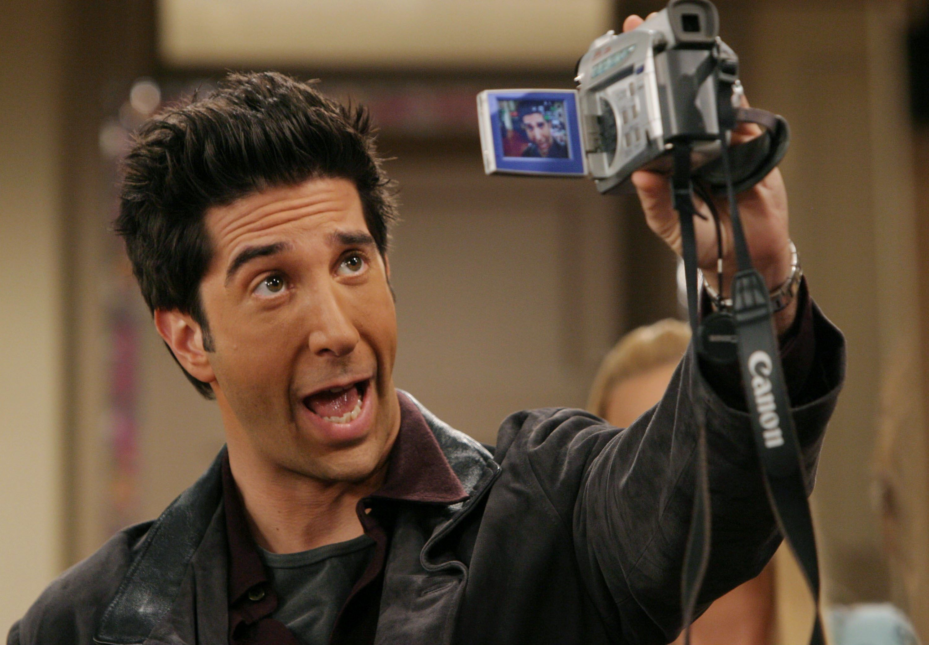Ross Geller portrayed by famous actor David Schwimmer / Getty Images
