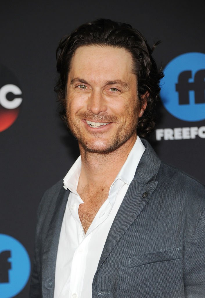 Image Credits: Getty Images / Desiree Navarro / WireImage | Actor Oliver Hudson attends during 2018 Disney, ABC, Freeform Upfront on May 15, 2018 in New York City.