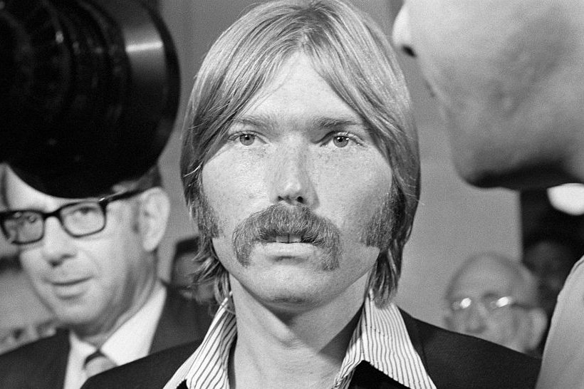 "Image Credits: Getty Images / Bettman | Terrence P. ""Terry"" Melcher, 27-year-old son of actress Doris Day attends the Los Angeles County grand jury."