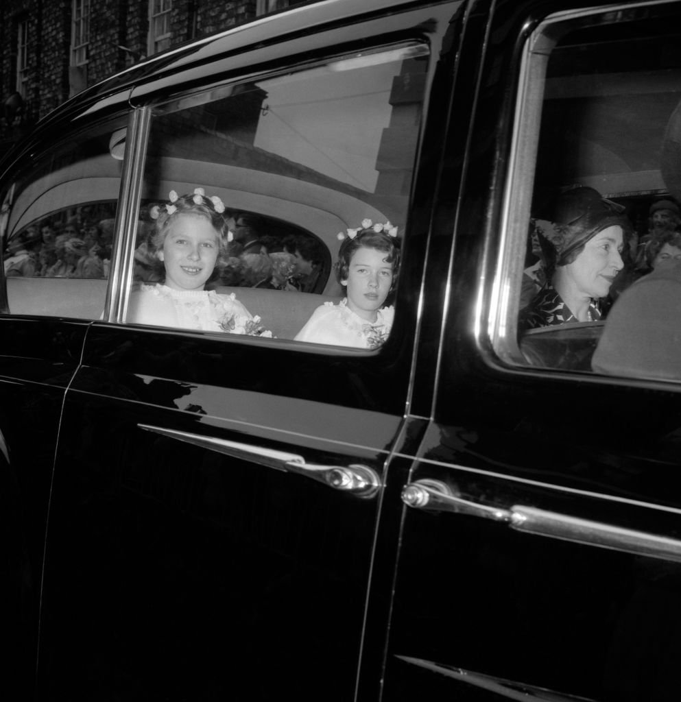Princess Ann with Sandra Butter | Image Source: Getty Images