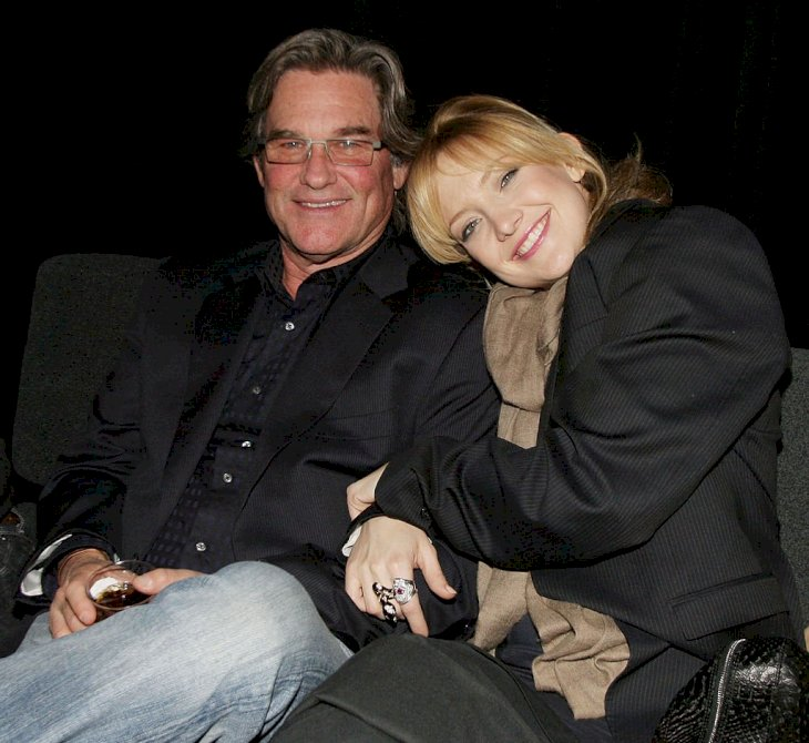 Image Credit: Getty Images / Kurt Russell with his daughter, Kate Hudson.
