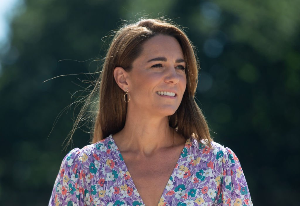 Image Credit: Getty Images / Catherine, Duchess of Cambridge during a visit to The Nook in Framlingham Earl, Norfolk on June 25, 2020 in the United Kingdom.