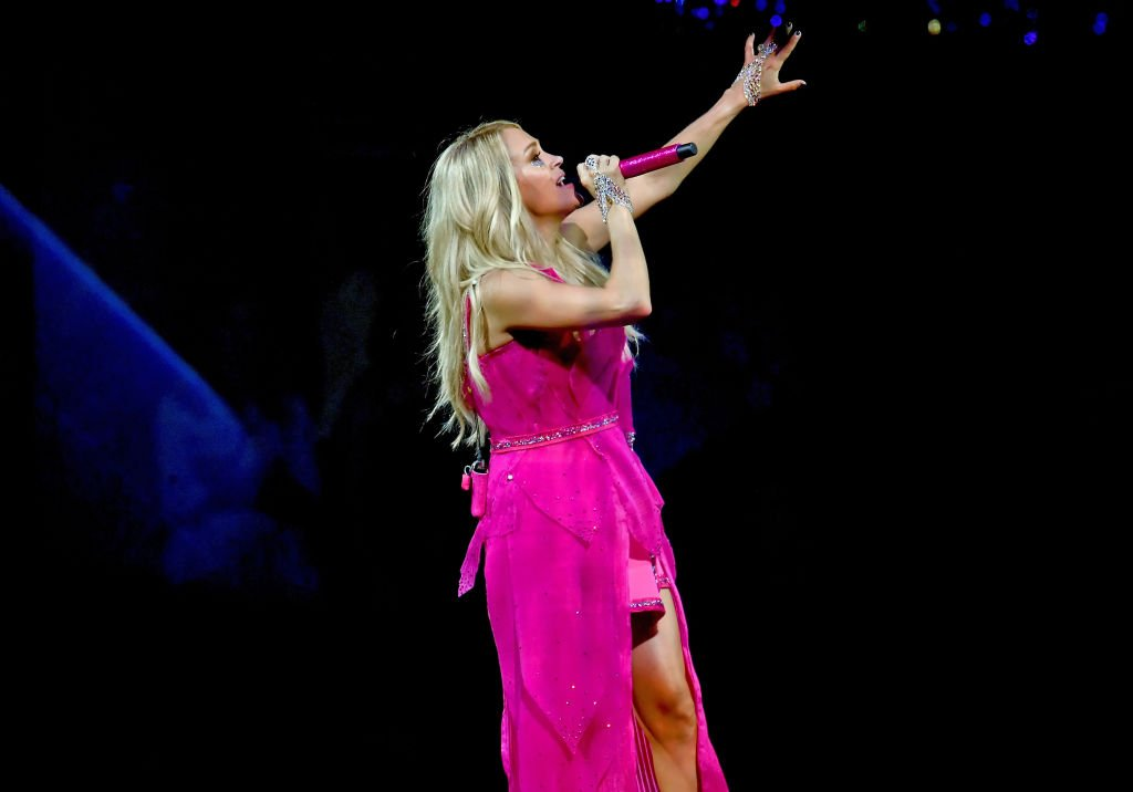 Image Credit: Getty Images / Carrie Underwood performs onstage at Staples Center on September 12, 2019 in Los Angeles, California.