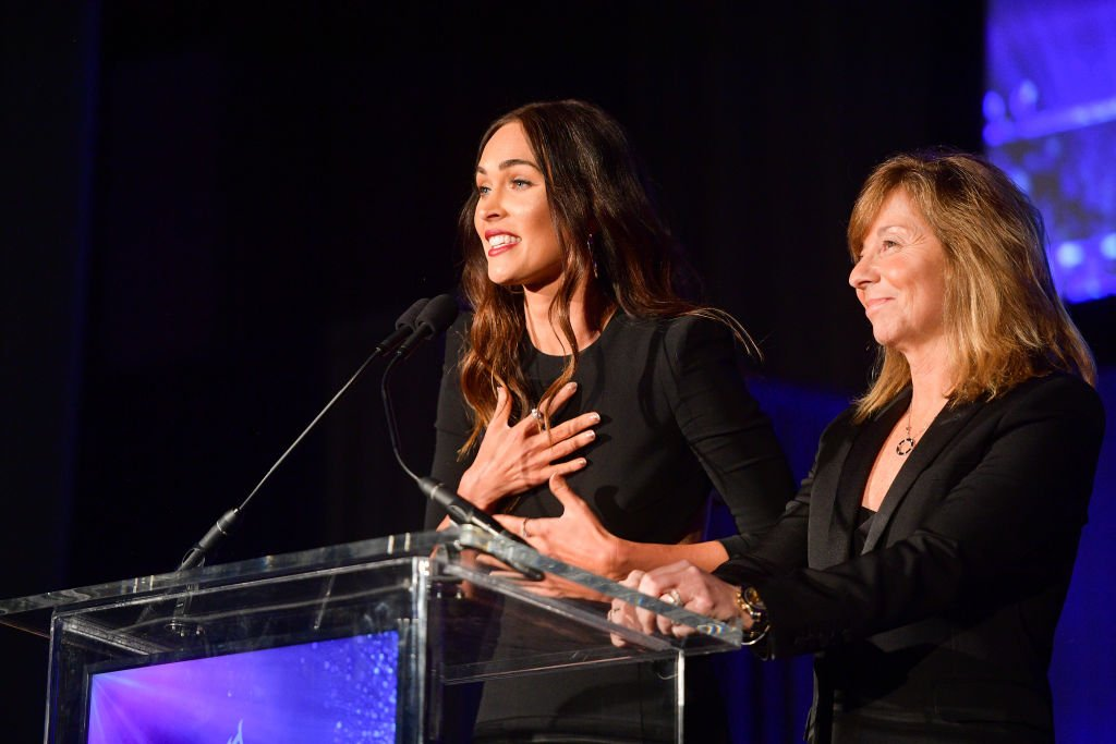Image Credit: Getty Images / Megan Fox and Anna Behlmer attend the 55th Annual Cinema Audio Society Awards on February 16, 2019 in Los Angeles, California.
