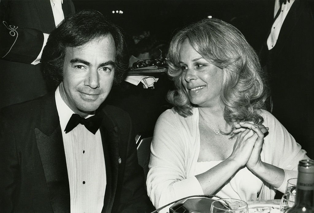 Image Credit: Getty Images / Neil Diamond and wife Marcia circa 1981 in New York City.