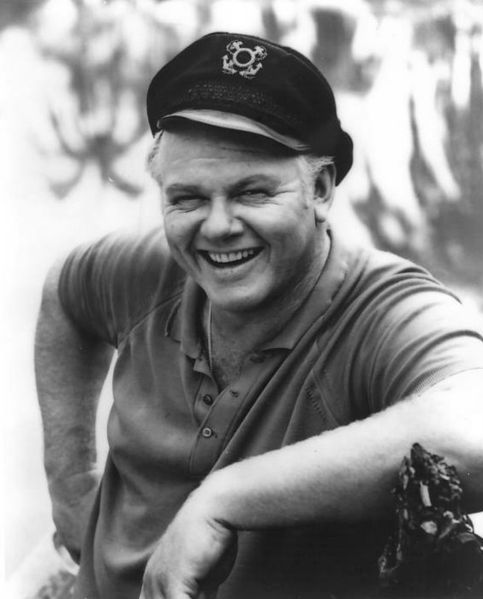 Alan Hale Jr. Image Source: Wikimedia Commons.