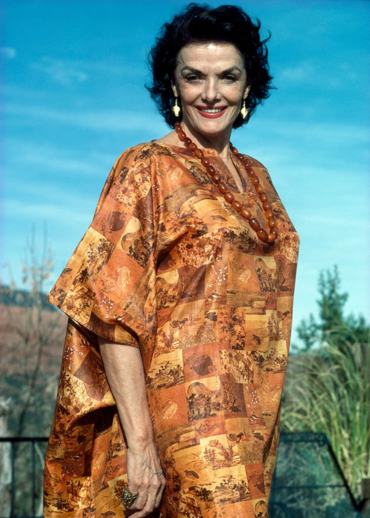 Image Source: Getty Images/Eamonn McCabe/Popperfoto /American film actress Jane Russell at home in Sedona, Arizona, circa 1988