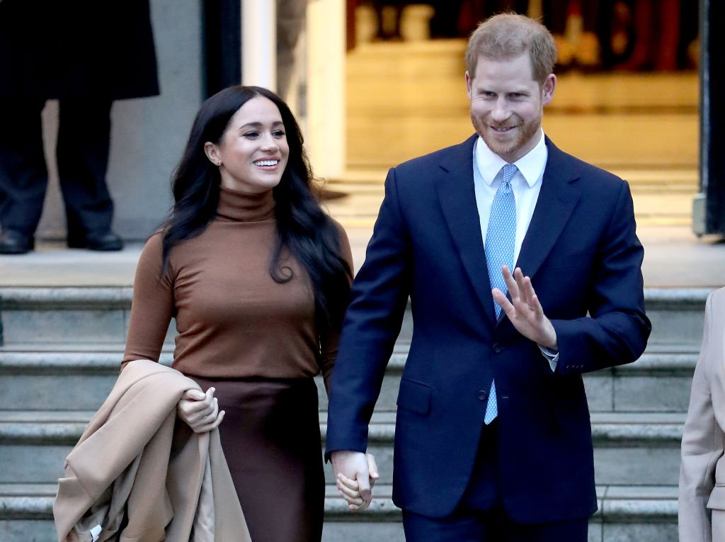 Image Credits: Getty Images / Chris Jackson   Prince Harry, Duke of Sussex and Meghan, Duchess of Sussex