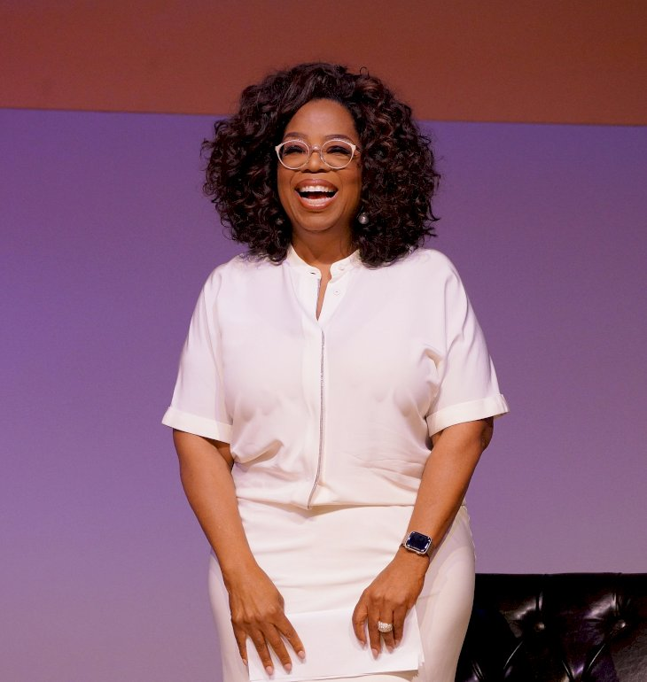 Image Credit: Getty Images/GIANLUIGI GUERCIA | Oprah at the South Africa Human Rights Tribute to Nelson Mandela event