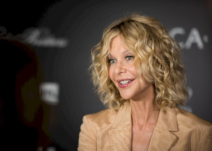 Image Credit: Getty Images / Meg Ryan at an event.