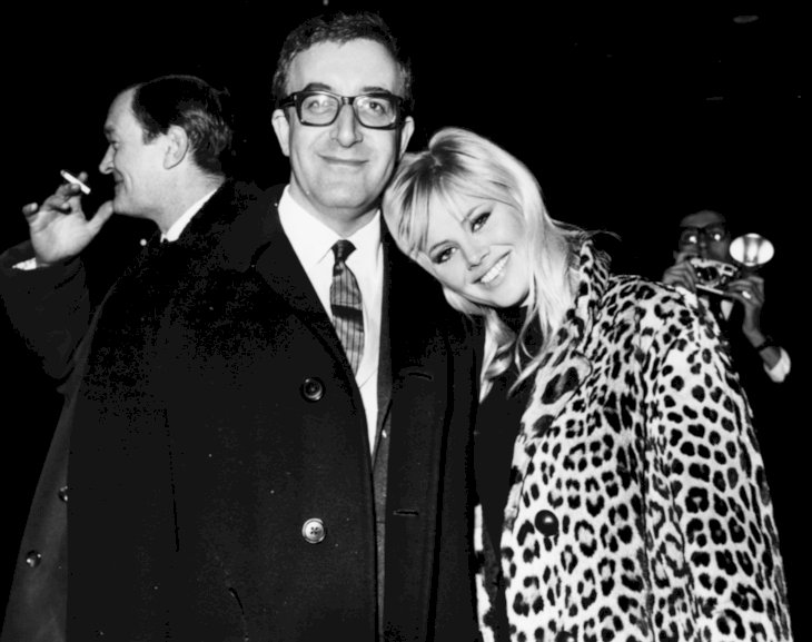 Image Credit: Getty Images / Britt Ekland with her husband, Peter Sellers.