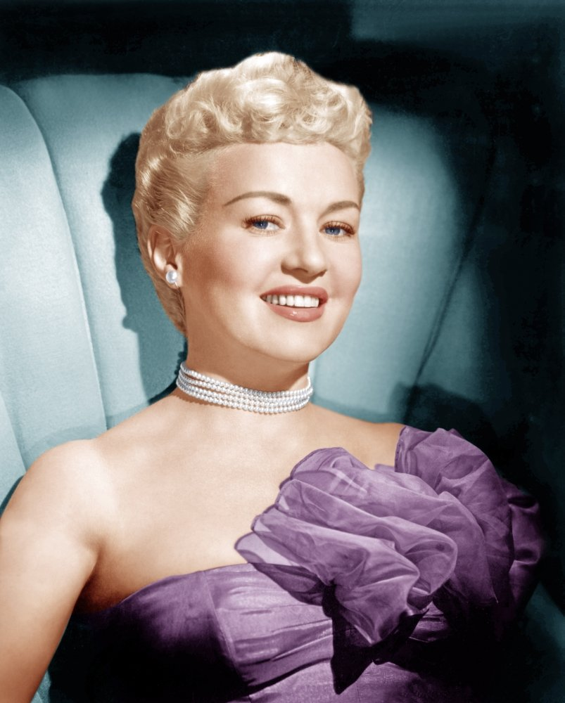 Image Source: Wikimedia Commons|Publicity photo of Betty Grable
