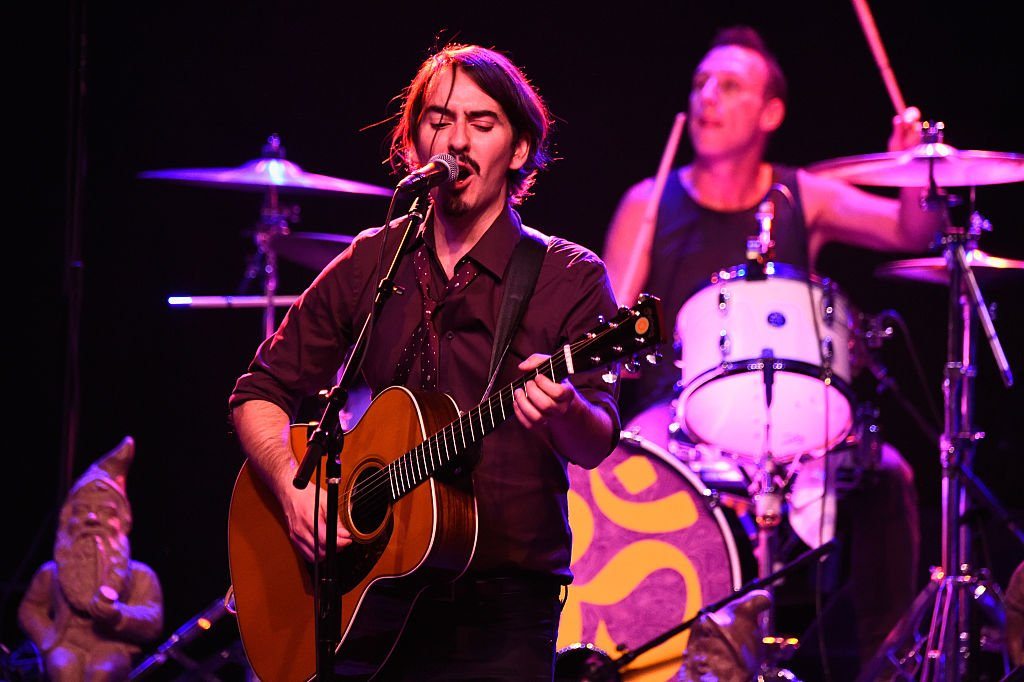 Image Credits: Getty Images / Frazer Harrison |  Musician Dhani Harrison, son of George Harrison performs at The Best Fest Presents GEORGE FEST An Evening To Celebrate The Music Of George Harrison at The Fonda Theatre on September 28, 2014 in Los Angeles, California.