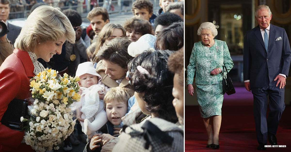 Image Credit: Getty Images | Princess Diana and Queen Elizabeth II in two separate photos