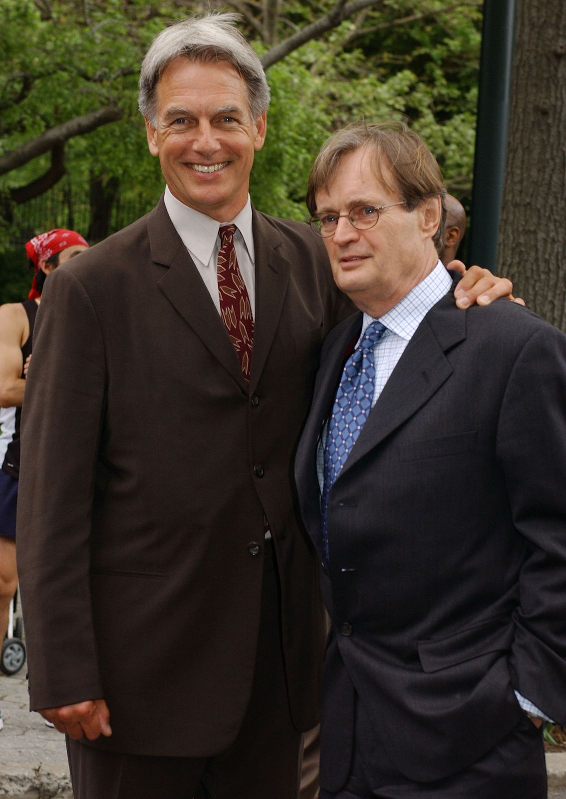 Mark Harmon and David McCallum/Photo:Getty Images