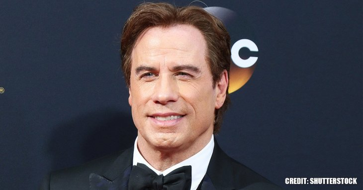 John Travolta attracted attention with new look during red carpet outing with family